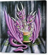 Sewing Dragons Canvas Print