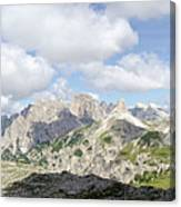 Sextener Dolomites Canvas Print