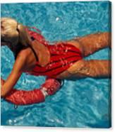 Sexy Red Bikini Canvas Print