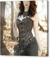 Sexy Steam Punk Canvas Print