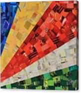 Seychelles Flag Canvas Print