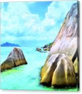 Seychelles Shallows Canvas Print