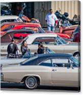 Sf Low Riders Canvas Print