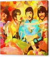 Sgt. Peppers Lonely Hearts Canvas Print