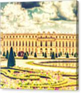 Shabby Chic Hdr Panorama Versailles Paris Canvas Print