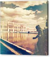 Shabby Chic Versailles Palace Gardens Canvas Print
