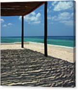 Shade By The Beach Canvas Print