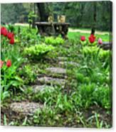 Shade Garden 2  Canvas Print