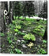 Shade Garden Canvas Print