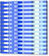 Shades Of Blue Highrise Canvas Print