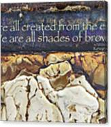 Shades Of Brown Canvas Print