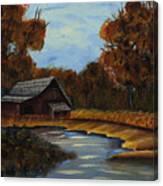 Shades Of Fall  Canvas Print