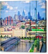 Shades Of Philadelphia Canvas Print