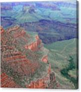 Shades Of The Canyon Canvas Print
