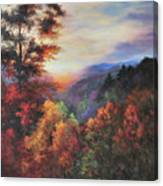 Shades Of Twilight Canvas Print