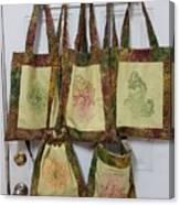 Shadi Handbags Canvas Print