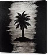Shadow Beach Canvas Print