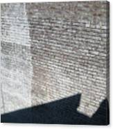 Shadow Brick Canvas Print