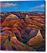 Shadow Canyon Canvas Print