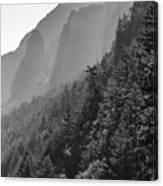 Shadow Cliffs Canvas Print