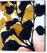 Shadow Hibiscus Canvas Print