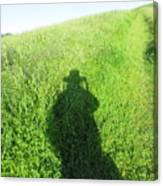 Shadow In The Grass Canvas Print