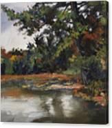 Shadow Lake Plein Air #3 Canvas Print