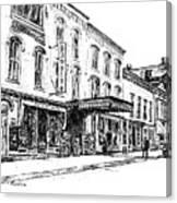 Shadowland Theater Canvas Print