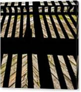 Shadows And Lines - Semi Abstract Canvas Print
