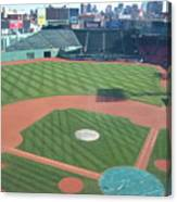 Shadows Of  Fenway Park Canvas Print