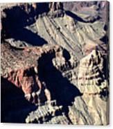 Shadows Of Grand Canyon Canvas Print