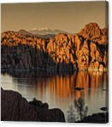Shadows Of The Setting Sun Tx2 Canvas Print
