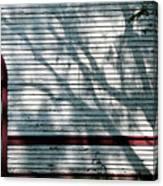 Shadows On Churchdoor Canvas Print