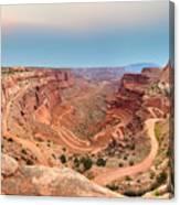 Shafer Canyon Canvas Print