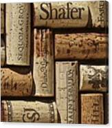 Shafer Wine Canvas Print