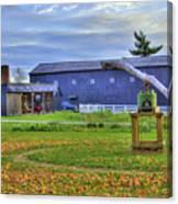 Shaker Barn And Sorghum Mill Canvas Print