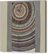 Shaker Circular Rug Canvas Print