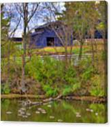 Shaker Lake Geese Canvas Print