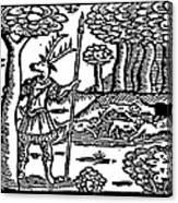 Shakespeare: Falstaff Canvas Print