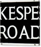 Shakespeare Road Uk Canvas Print