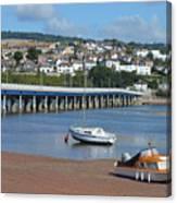 Shaldon Bridge Canvas Print