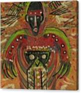 Shaman Says Walk Softly And Carry A Big Schtik Canvas Print