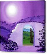 Shaman's Gate To Summer Canvas Print