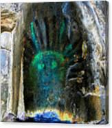 Shamans Head Canvas Print