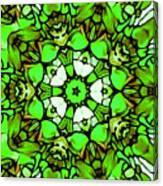 Shamrock Pattern Canvas Print