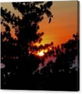 Shangrila Sunset Canvas Print