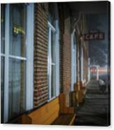 Shaniko Hotel And Cafe Canvas Print