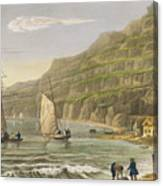 Shanklin Bay Canvas Print