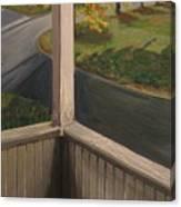 Shannon Street Porch Canvas Print