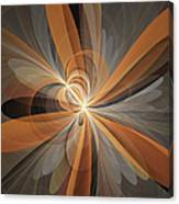 Shapes Of Fantasy Flowers Canvas Print